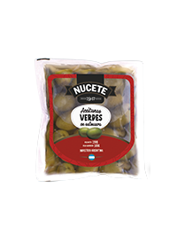 Aceituna verde NUCETE doy pack x 190 gramos
